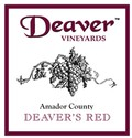Deaver's Jug - Red Table Wine